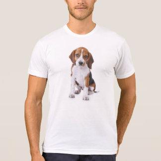 T-shirt du coton des hommes de chiot de beagle