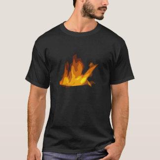 T-shirt du feu - noir