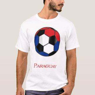 T-shirt du football de coupe du monde du Paraguay