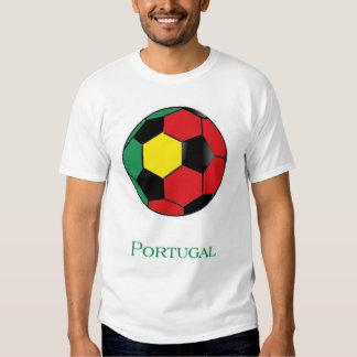 T-shirt du football de coupe du monde du Portugal