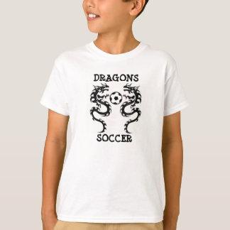 T-SHIRT du FOOTBALL de DRAGONS - customisé