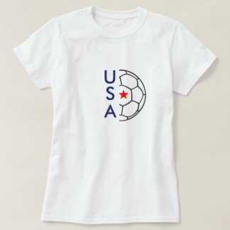 T-shirt du football des Etats-Unis