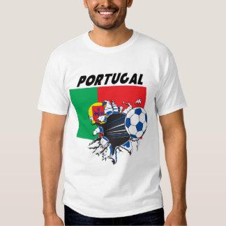 T-shirt du football du Portugal