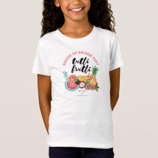 T-shirt du fruit | de la fête d'anniversaire |