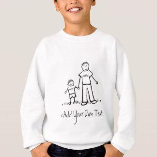 T-shirt du garçon du papa