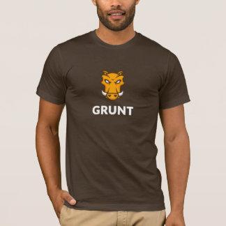 T-shirt du grognement JS (Brown)