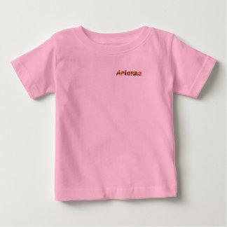 T-shirt du Jersey d'amende de bébé d'Arianna