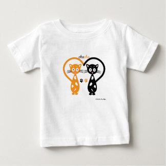 T-shirt du Jersey d'amende de bébé de Chacha