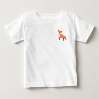 T-shirt du Jersey d'amende de bébé de Fox de