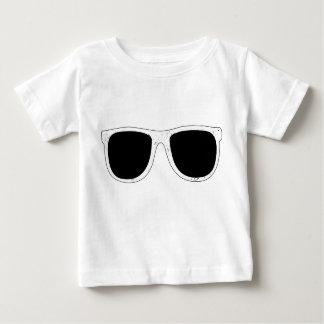 T-shirt du Jersey d'amende de bébé de lunettes de