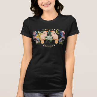 T-shirt du Jersey d'amour de perroquet