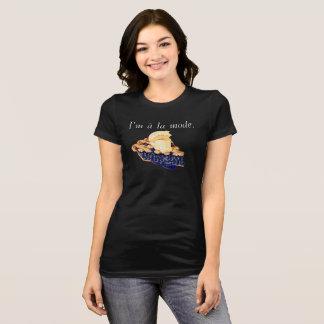 T-shirt du Jersey de mode de La d'à de tarte de