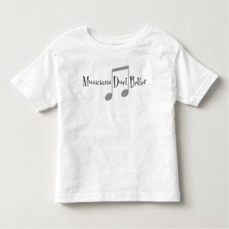 T-shirt du Jersey d'enfant en bas âge de duo