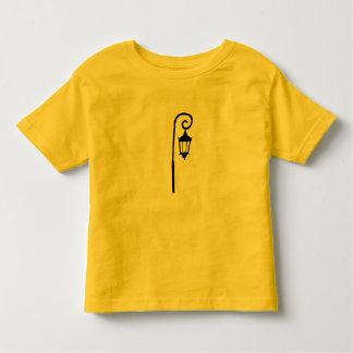 T-shirt du Jersey d'enfant en bas âge - lampadaire