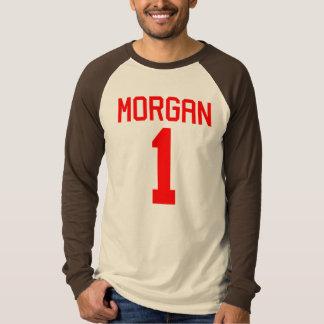 T-shirt du Jersey du football de Morgan #1