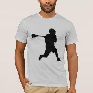 T-shirt du joueur aa de lacrosse