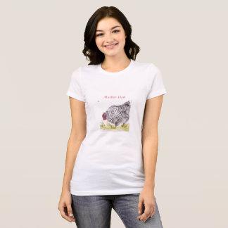 T-shirt du jour de mère de poule de mère