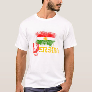 """T-shirt du Kurdistan avec """"DERSIM """""""