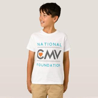 T-shirt du logo de l'enfant