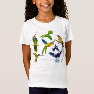 T-shirt du l'Oiseau-amant de l'enfant de colibris