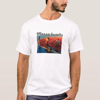 T-shirt du Massachusetts (canneberge)