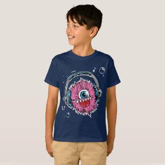 T-shirt du monstre de l'enfant