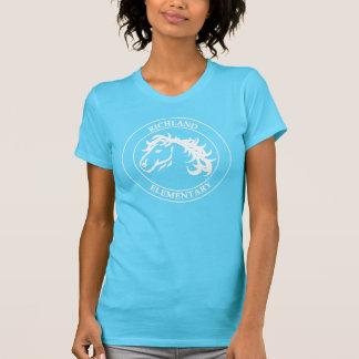 T-shirt du mustang des femmes