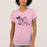 T-shirt du papillon des femmes