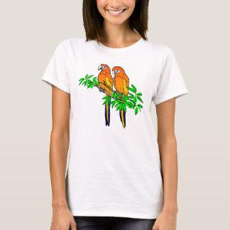 T-shirt du perroquet des femmes