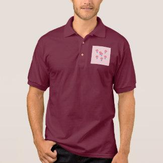 T-shirt du polo des hommes de ballons à air