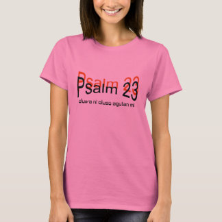 T-shirt du psaume 23 (langue de yoruba)