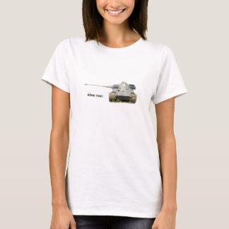 T-shirt du Roi Tiger, blanc, pour les hommes, des