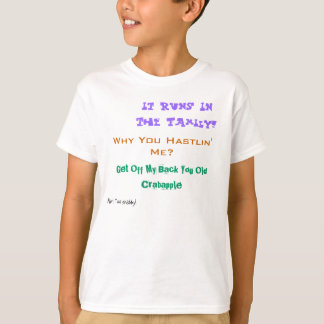 T-shirt du slogan de Sabina