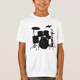 T-shirt du sport des enfants de tambours