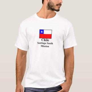 T-shirt du sud de mission du Chili Santiago