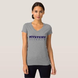 T-shirt du V-Cou des femmes de la Science de