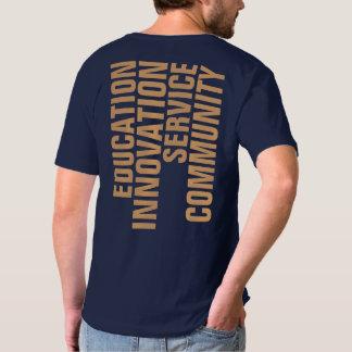 T-shirt du V-Cou des hommes de TCSPP