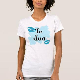 T-shirt DUA de Te - Albanais - je t'aime
