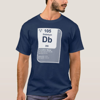 T-shirt Dubnium (Db)