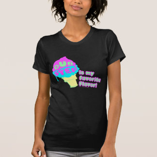 T-shirt Dubstep est ma saveur préférée