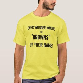 T-shirt Dunette de bruns