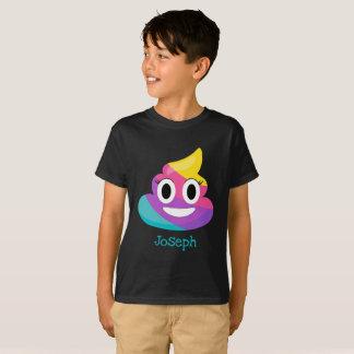 T-shirt Dunette Emoji d'arc-en-ciel