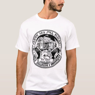 T-shirt d'université de Haile Selassie I