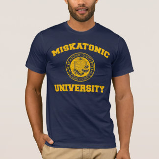 T-shirt d'université de Miskatonic