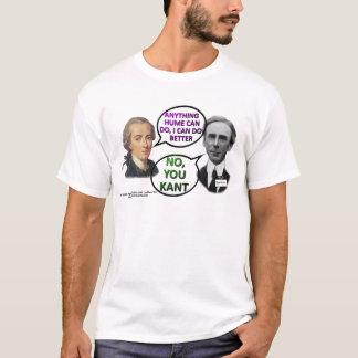 T-shirt Duo de comédie de Kant et de Bertrand