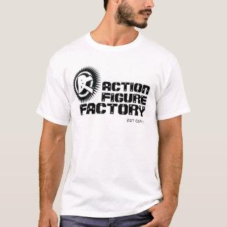 T-shirt d'usine de nombre d'actions
