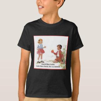 T-shirt Duvid aime Golde.
