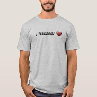 T-shirt dyslexie