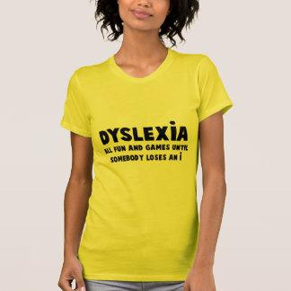 T-shirt Dyslexie hilare