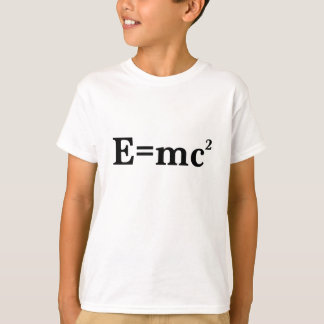 T-shirt E=mc2